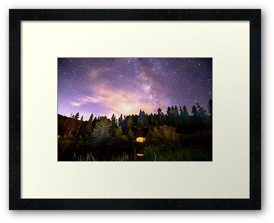 Galaxy Night by Bo Insogna