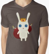 King Rabbit - Bombs! Men's V-Neck T-Shirt
