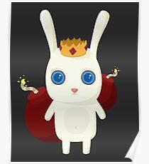 King Rabbit - Bombs! Poster