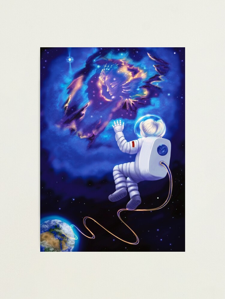 Alternate view of An Astronaut, My Childhood Dream Photographic Print