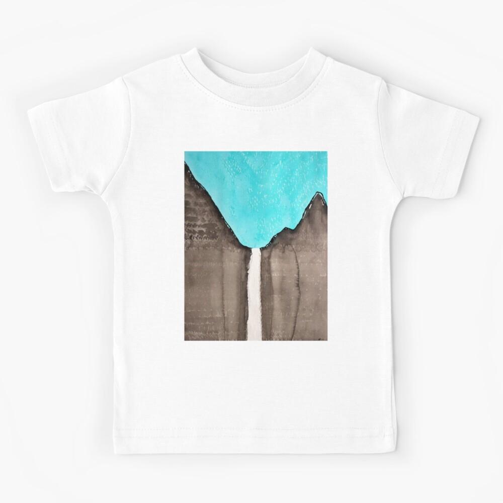 Original Gemälde von Bridalveil Fall Kinder T-Shirt