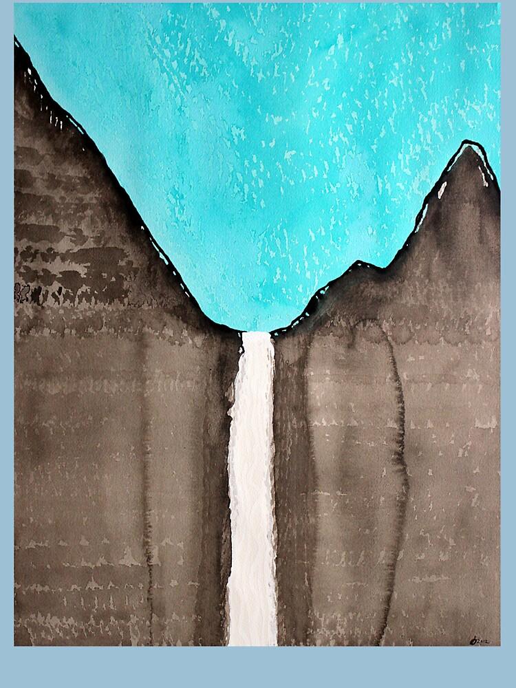Original Gemälde von Bridalveil Fall von CrowRisingMedia