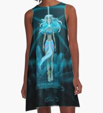 The Crystal Chamber A-Line Dress