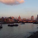 Saint Paul at the centre London  by Arvind Singh