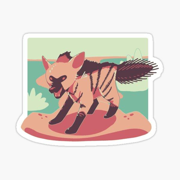 Little Aardwolf Sticker