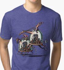 Stock Ticker Horse Race Tri-blend T-Shirt