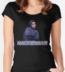 HACKERMAN -Mr Robot  Women's Fitted Scoop T-Shirt