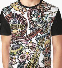 European Amusement Parks Graphic T-Shirt
