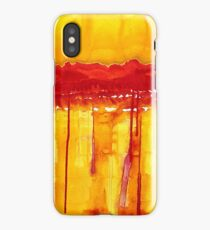 Rocky Mountains original painting iPhone Case/Skin