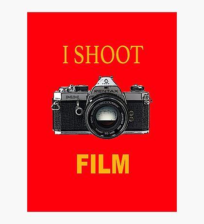 Disparo de cine Lámina fotográfica