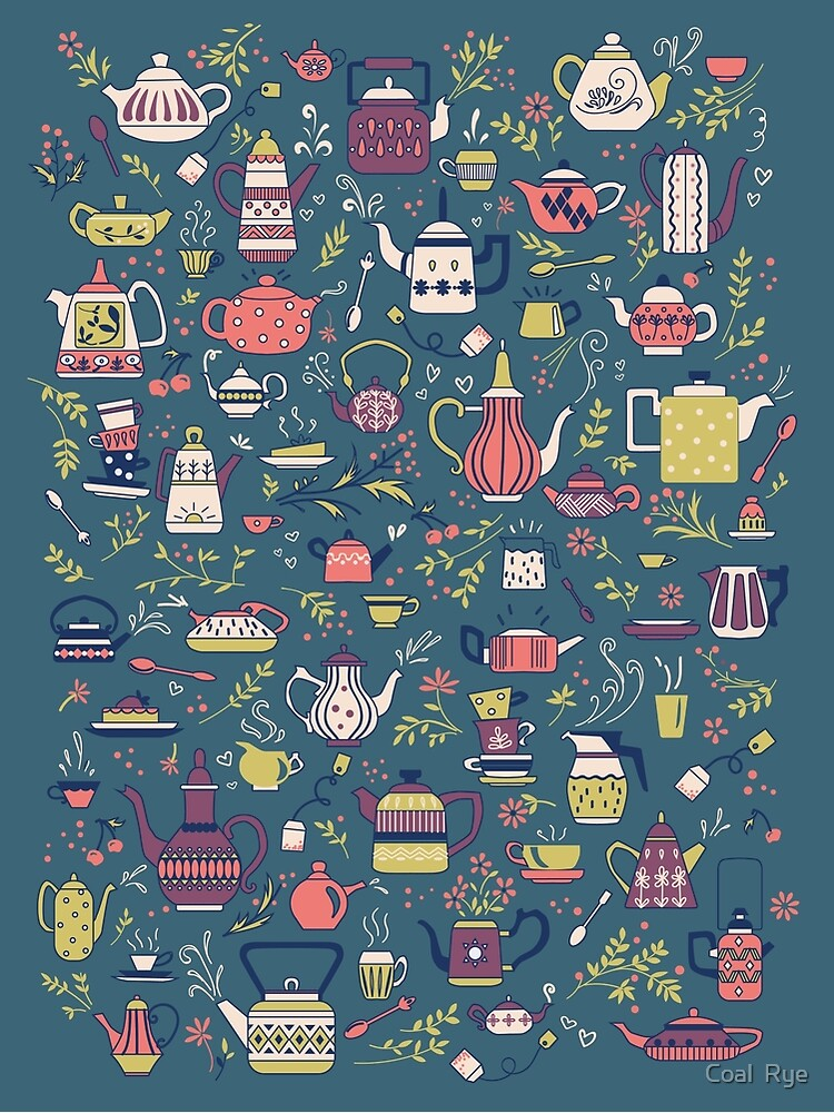 Teapots #3 by juliacoalrye