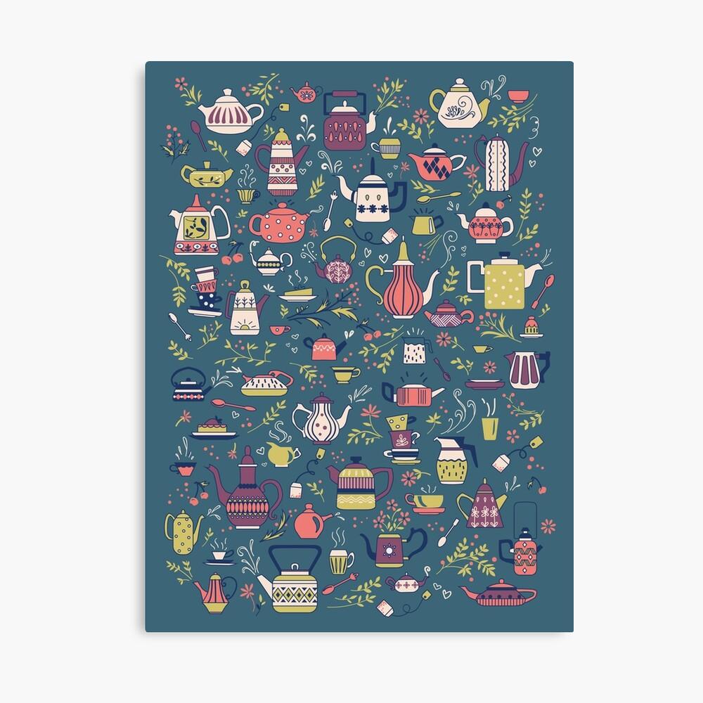 Teapots #3 Canvas Print