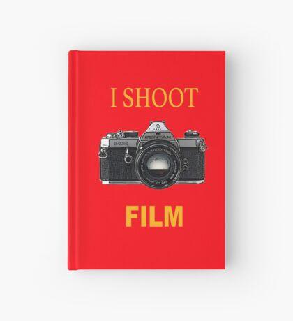 Disparo de cine Cuaderno de tapa dura