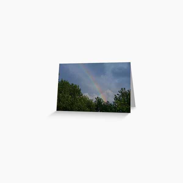 Storms and Rainbows Greeting Card