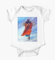 Surviving Another Day Native American Woman Mom Gathering Wood Winter Snow Snowy Female Storm Wilderness Strong Powerful Blizzard Boots Mother  One Piece - Short Sleeve
