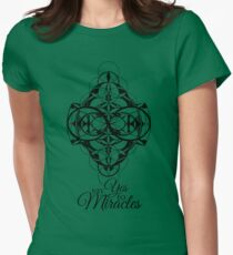 Say Yes to Miracles Women's Fitted T-Shirt