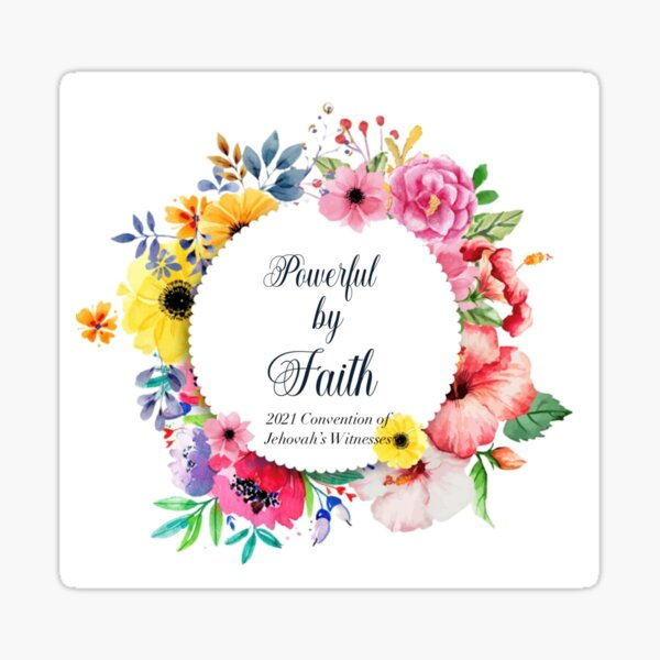 Powerful by Faith Sticker