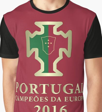 Portugal Euro 2016 Champions T-Shirts etc. ID-DTG3 Graphic T-Shirt