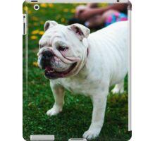 Cute Bulldog iPad Case/Skin