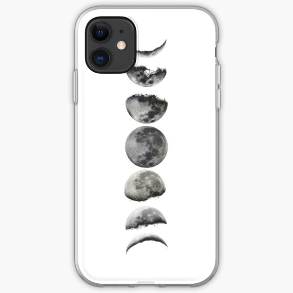 LUNAR PHASES iPhone Soft Case