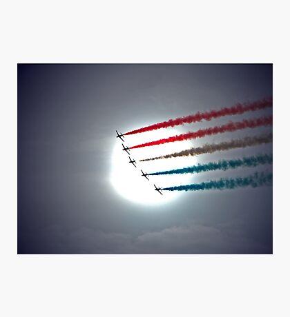 Arrows Into The Sun Photographic Print