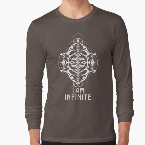 I AM INFINITE (design in white) Long Sleeve T-Shirt