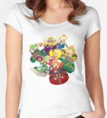 Kart Racers Women's Fitted Scoop T-Shirt
