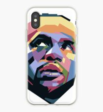 King LeBron ART iPhone Case