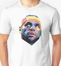 King LeBron ART Slim Fit T-Shirt