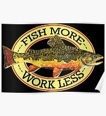 Humorous Fishing Poster