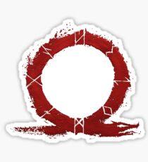 Kratos God Of War Stickers Redbubble
