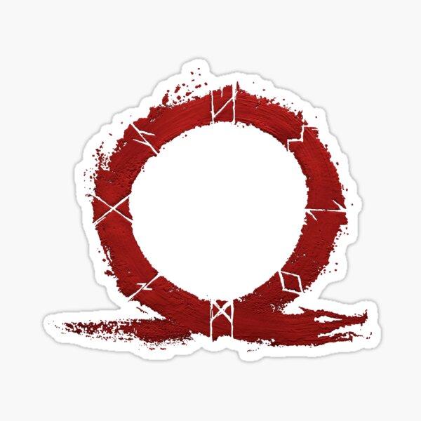 God of War - Omega Sticker