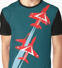 Red Arrows 50th Display Season Graphic T-Shirt