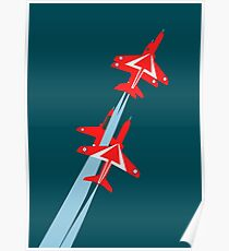 Red Arrows 50th Display Season Poster