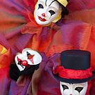 Clowns and the Mask by zinchik
