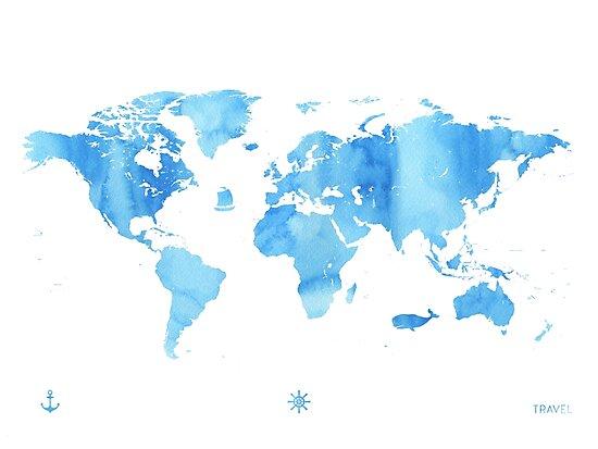 Sky World map by Pranatheory
