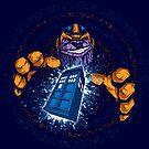 THE TITANS BLUE BOX T-SHIRT by fmm3