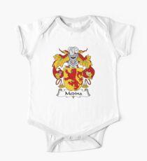 Medina Coat of Arms/Family Crest One Piece - Short Sleeve