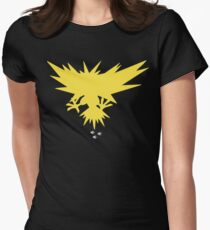 Zapdos - Near By | PokemonGO Women's Fitted T-Shirt