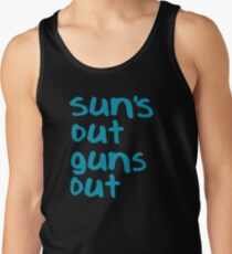 Sun's Out Guns Out - 22 Jump Street Tank Top