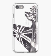 Red Arrows RIAT Line Up iPhone Case/Skin
