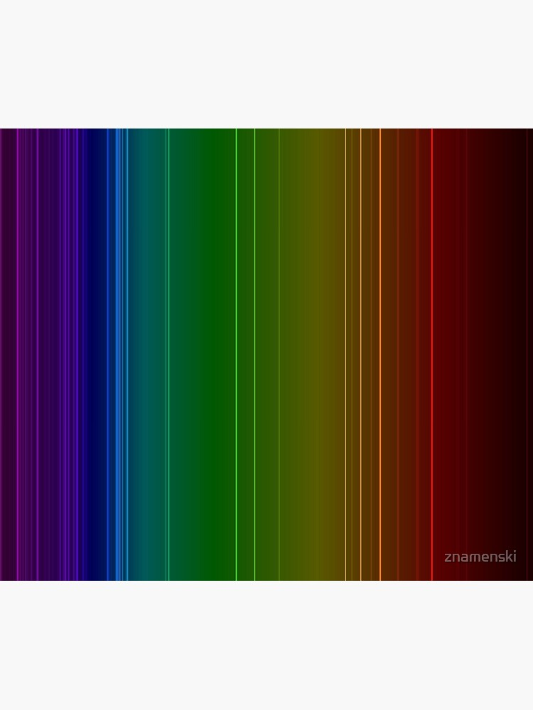 Emission spectrum of oxygen. When an electrical discharge is passed through a substance, its atoms and molecules absorb energy, which is reemitted as EM radiation by znamenski