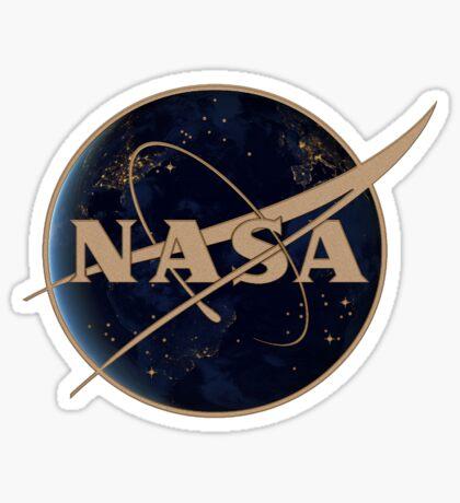 NASA at Night Sticker