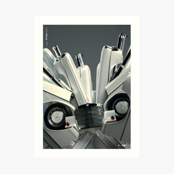 PETROLTRIBES M01 Art Print
