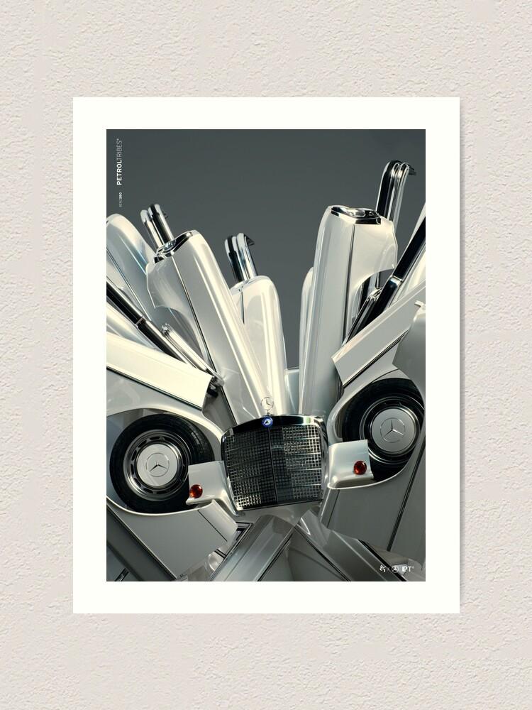 Alternate view of PETROLTRIBES M01 Art Print
