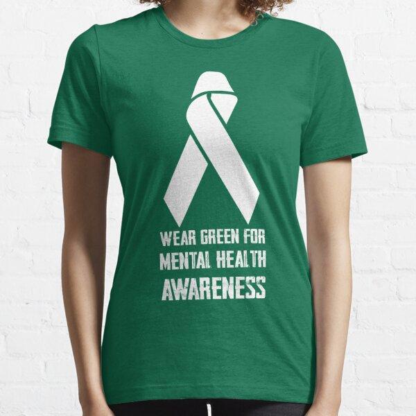 Wear Green for Mental Health Awareness Essential T-Shirt