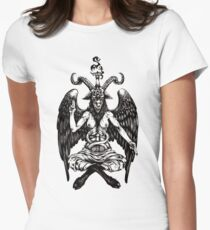 Baphomet Women's Fitted T-Shirt