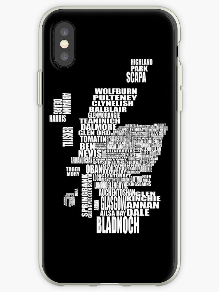 Schottland Karte Whisky.Brennerei Karte Von Schottland Iphone Hülle Cover Von Whisky Imp