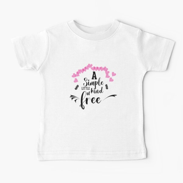 a simple little kind of free  Baby T-Shirt