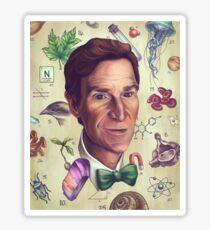 Bill Nye The Nature Guy Sticker
